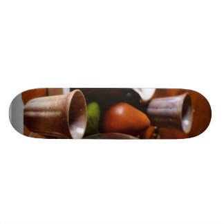 Glasses Still Life Skateboard Deck