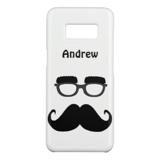 Glasses with moustache Case-Mate samsung galaxy s8 case
