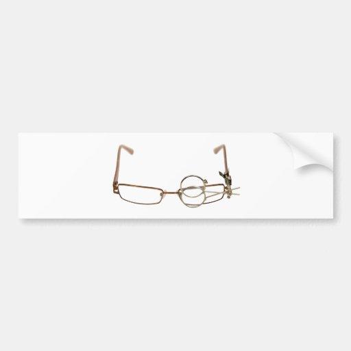 GlassesFocus052409 Bumper Sticker