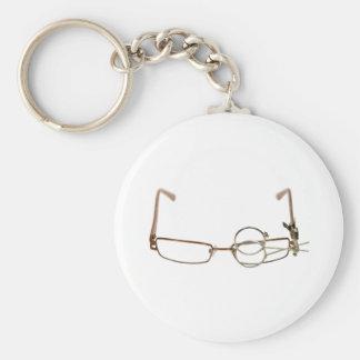 GlassesFocus052409 Keychain