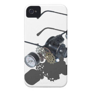 GlassesGearsGauge062115.png iPhone 4 Case