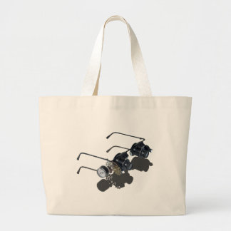 GlassesGearsGauge062115.png Large Tote Bag