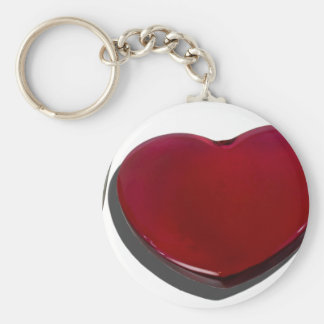 GlassHeartSilverware070315.png Basic Round Button Keychain