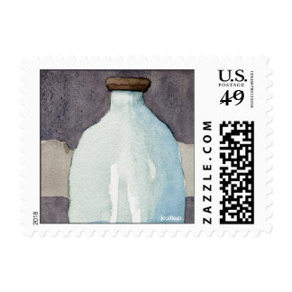 GlassJar postage stamps - small
