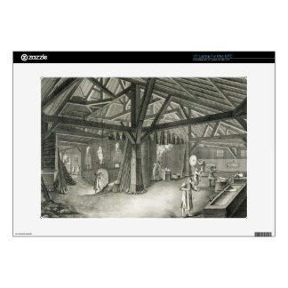 """Glassmaking factory, from the 'Encyclopedia' by De Skin For 15"""" Laptop"""