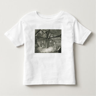 Glassmaking factory, from the 'Encyclopedia' by De Toddler T-shirt