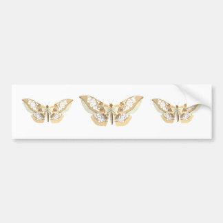 GlassWing Butterfly Bumper Stickers