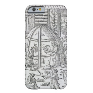 Glassworks, illustration showing the marble furnac barely there iPhone 6 case