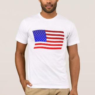 Glassy American Flag T-Shirt