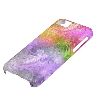 Glassy Ametrine Purple Texture Case For iPhone 5C