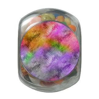 Glassy Ametrine Purple Texture Jelly Belly Candy Jars