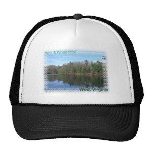 Glassy Appalachian Lake Mesh Hat