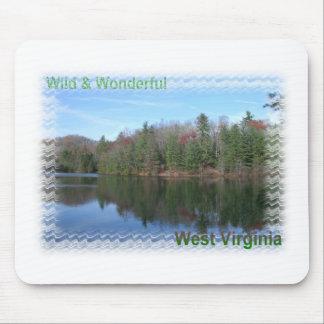 Glassy Appalachian Lake Mouse Pads