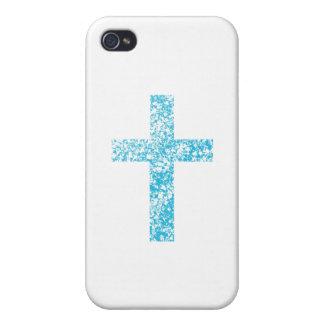 Glassy Cross iPhone 4 Case