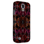 Glassy Flower Beads Galaxy S4 Cases