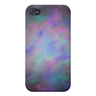 Glassy Galaxy i Case For iPhone 4