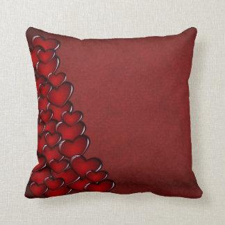 Glassy Hearts American MoJo Pillow