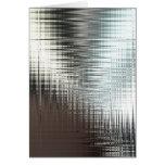 Glassy Metal Look Cards