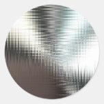 Glassy Metal Look Sticker