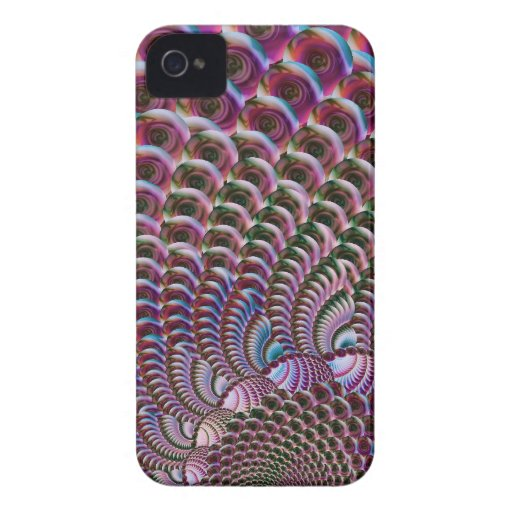 Glassy Spiral iPhone 4 Cover