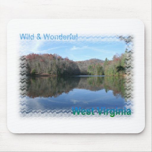Glassy West Virginia Lake Mouse Pad