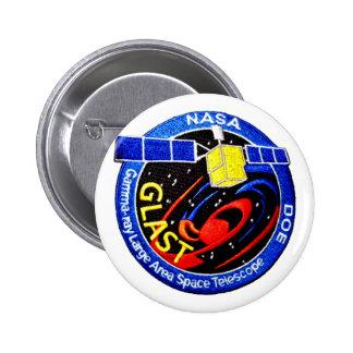 GLAST DOE Patch Pinback Button