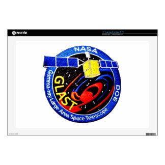 """GLAST - DOE Program Logo 17"""" Laptop Skin"""