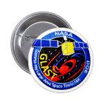 GLAST - DOE Program Logo 2 Inch Round Button