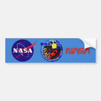 GLAST - DOE Program Logo Bumper Sticker