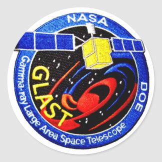 GLAST - DOE Program Logo Classic Round Sticker