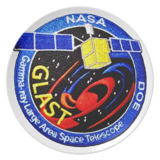 GLAST - DOE Program Logo Melamine Plate