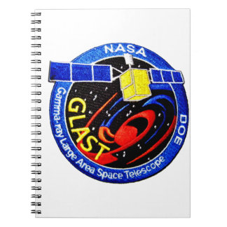 GLAST - DOE Program Logo Spiral Notebooks