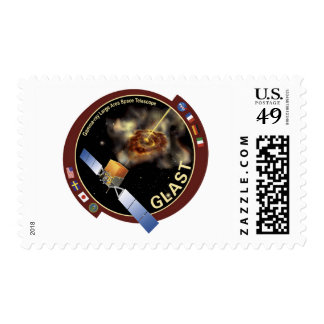 Glast Mission Patch Postage