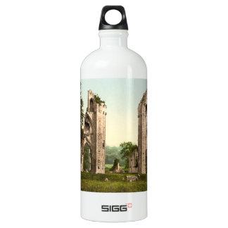 Glastonbury Abbey I, Somerset, England Aluminum Water Bottle