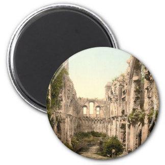 Glastonbury Abbey II, Somerset, England 2 Inch Round Magnet