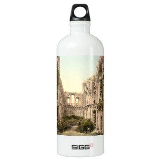 Glastonbury Abbey II, Somerset, England Aluminum Water Bottle