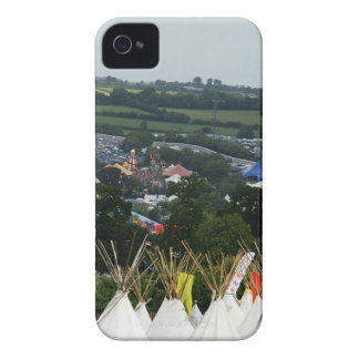 Glastonbury Festival Tee Pee Time Case-Mate iPhone 4 Case