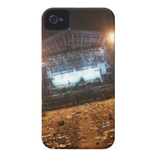 Glastonbury Festival. The Pyramid Stage at Night iPhone 4 Cover