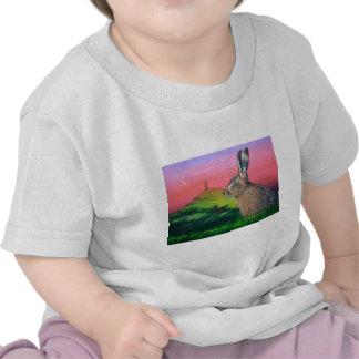 Glastonbury Hare T-shirts