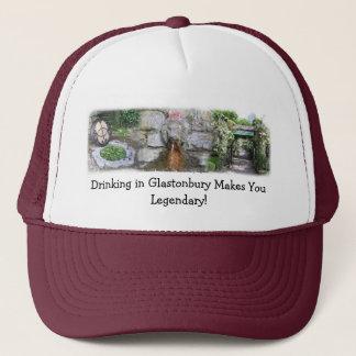 Glastonbury 's Magical Well Trucker Hat