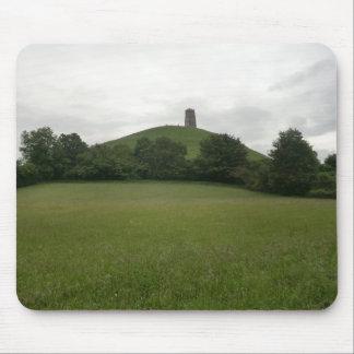 Glastonbury Tor Mouse Pad