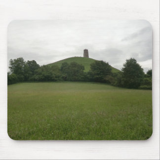 Glastonbury Tor Mouse Pads