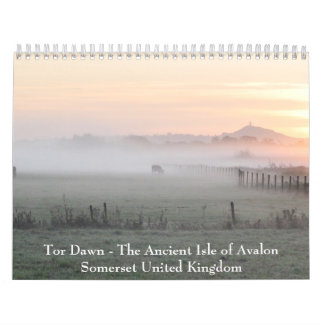 Glastonbury Tor - Somerset Calendar
