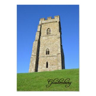 Glastonbury Tor Somerset England Photo Card