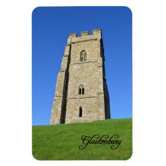 Glastonbury Tor Somerset England Photo Magnet