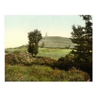 Glastonbury Tor, Somerset, England Postcard