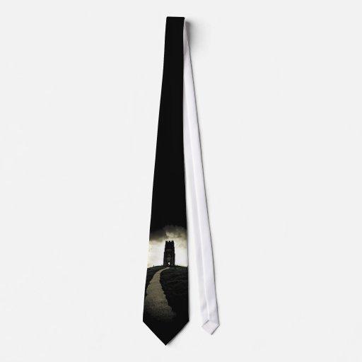 Glastonbury Tor Tie