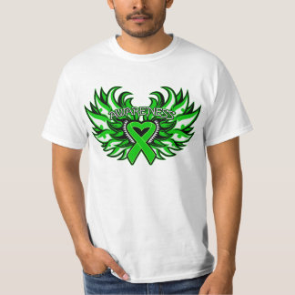 Glaucoma Awareness Heart Wings T-Shirt
