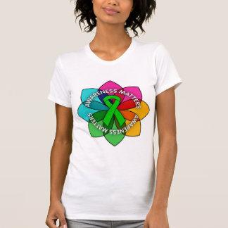 Glaucoma Awareness Matters Petals T-shirt