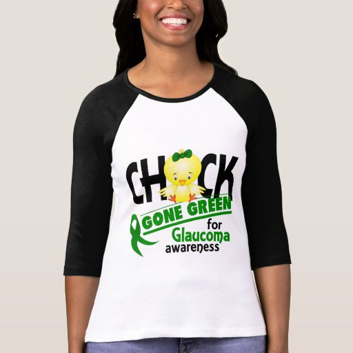 Glaucoma Chick Gone Green 2 T Shirt
